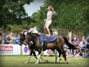 4th Aug 2016 - horseback acrobatics