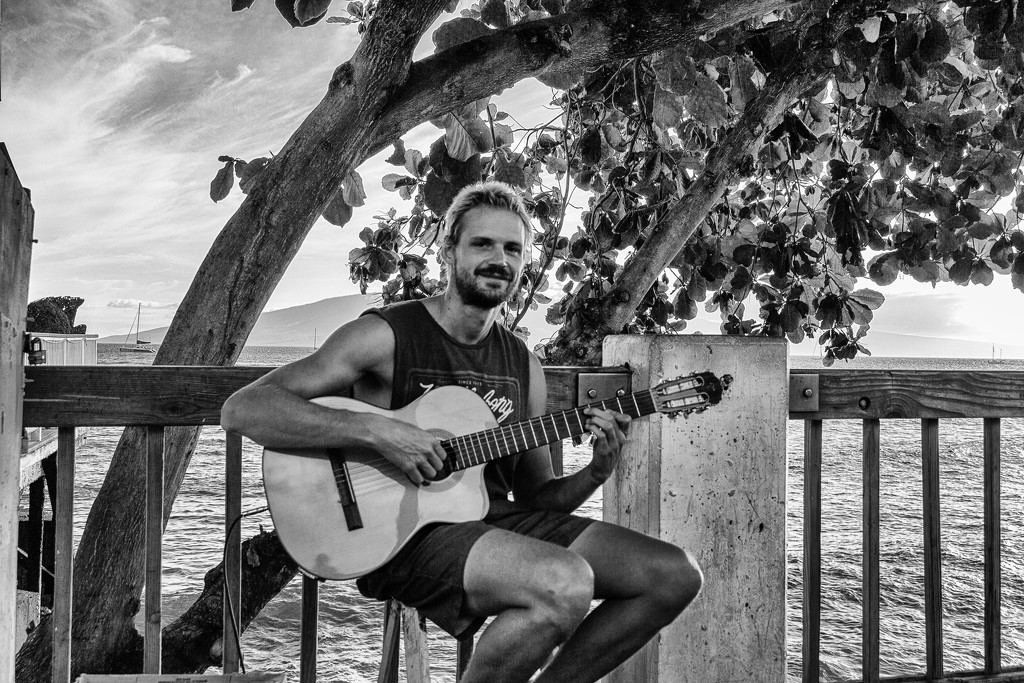 Maui Musician by swchappell