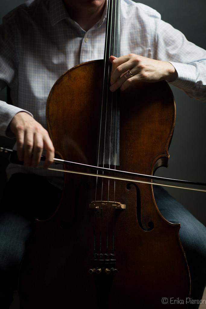 Cellist in Color by epcello