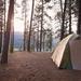 Camping at Kettle Falls
