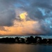 Sunset clouds, Colonial Lake Park, Charleston, SC by congaree