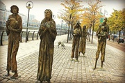 10th Aug 2016 - Famine statues
