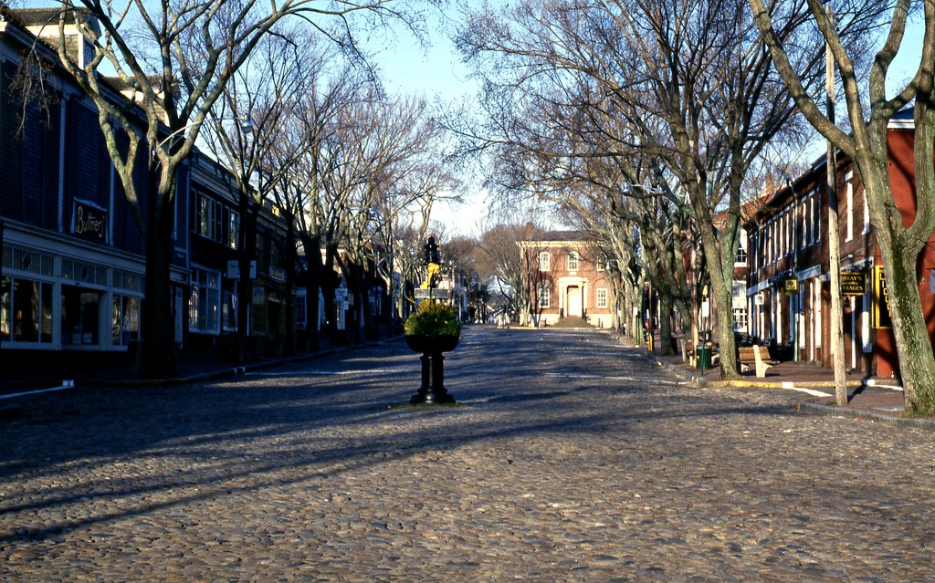 Main Street Nantucket, MA by sailingmusic