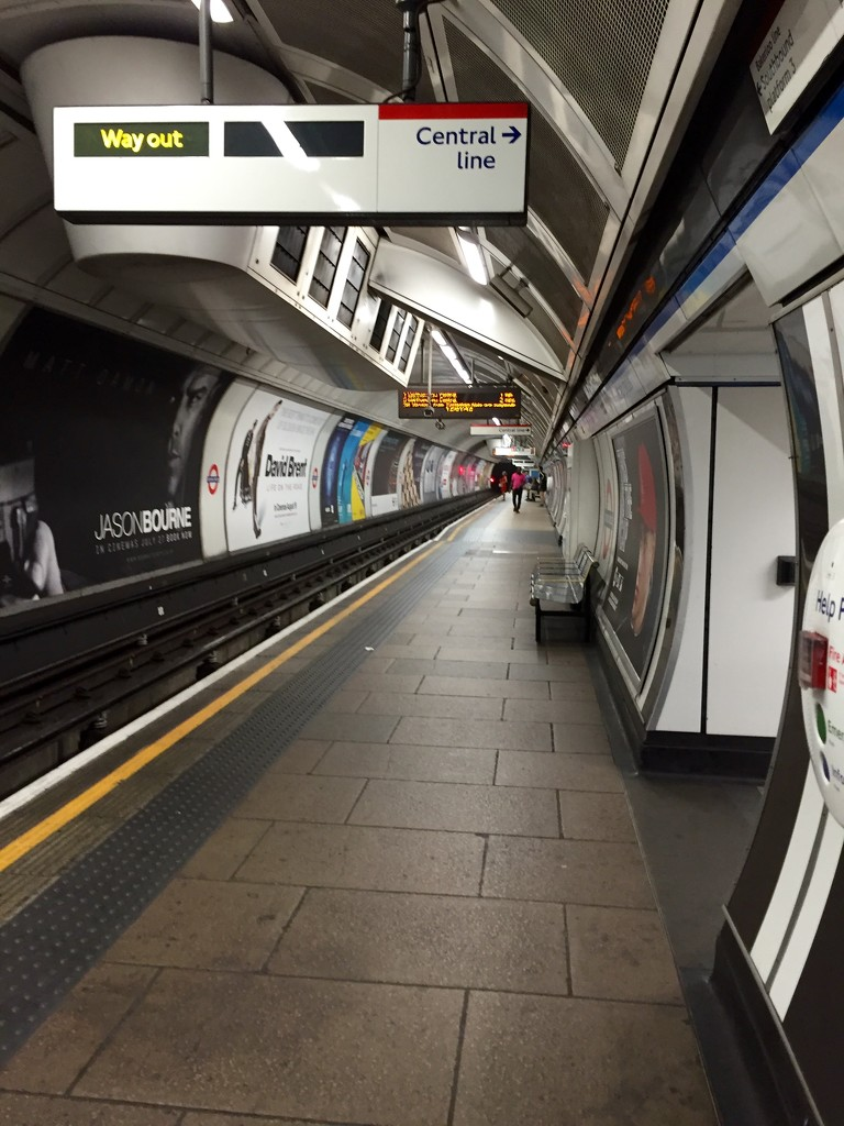 London Tube by gillian1912