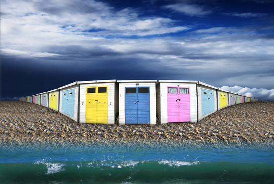 Beach Huts by lupus