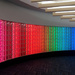 Light Wall at Dulles Airport by jaybutterfield