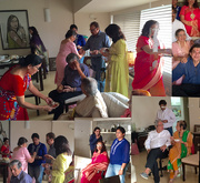 18th Aug 2016 - Rakhi tying denote love