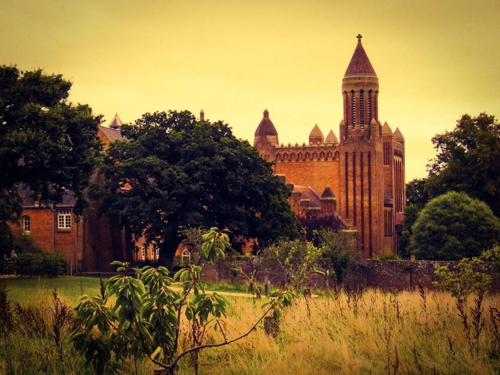 Quarr Abbey by iowsara