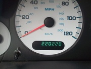 21st Aug 2016 - real-life odometer reading