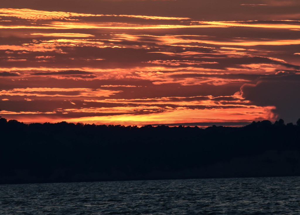 Evening Sky over the Bay by marylandgirl58