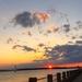 Sunset, The Battery at Charleston Harbor, Charleston, SC by congaree