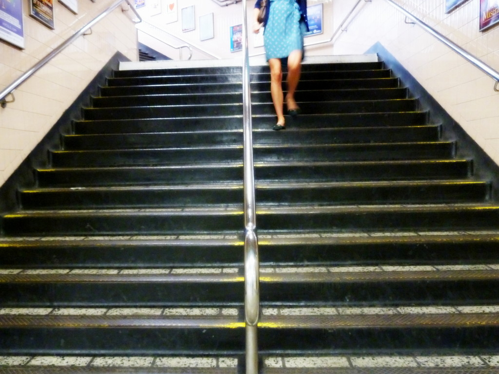 Down the stairs by boxplayer