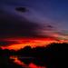 Sky on fire by danette