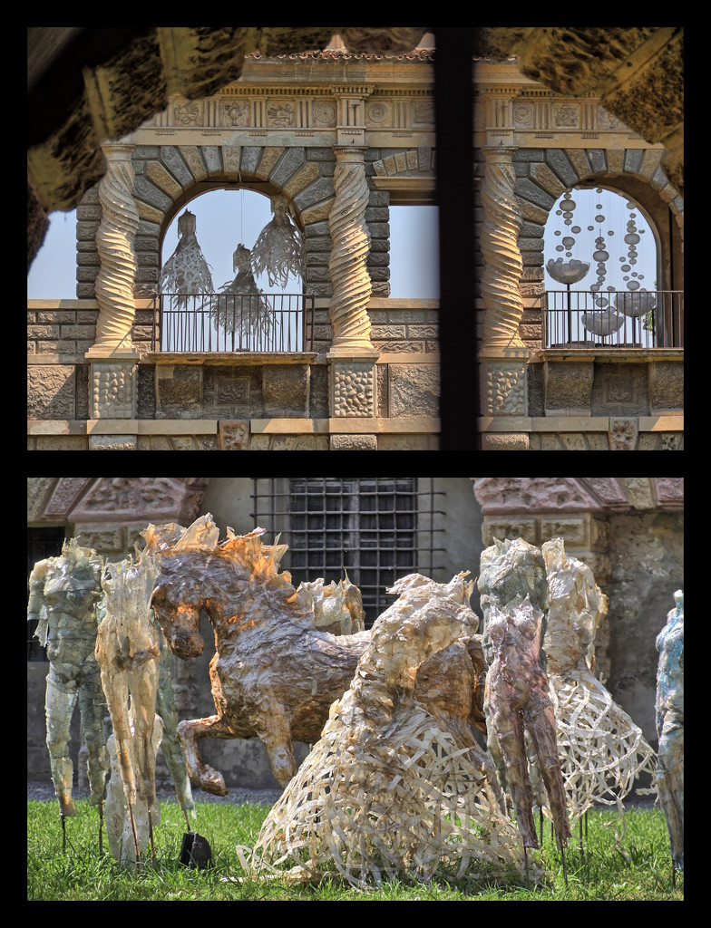 Strange encounters in Mantova by spectrum