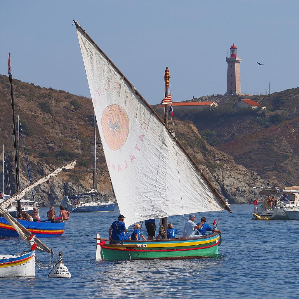 La Bepa at the bay of Paulilles by laroque