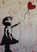 4th Sep 2016 - I love Banksy