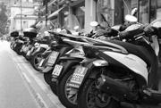 5th Sep 2016 - Scooter su una strada Italiana