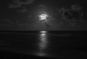 27th Jun 2016 - Moonlight Over The Pacific
