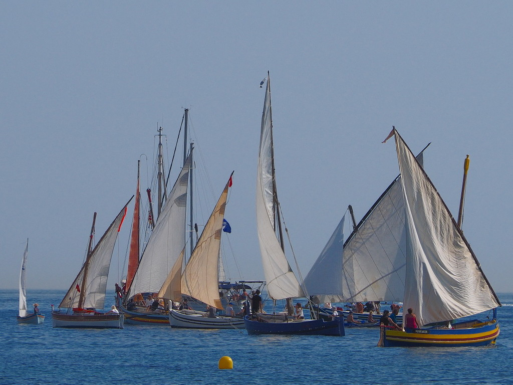 Yet more Catalan fishing boats from Sunday by laroque