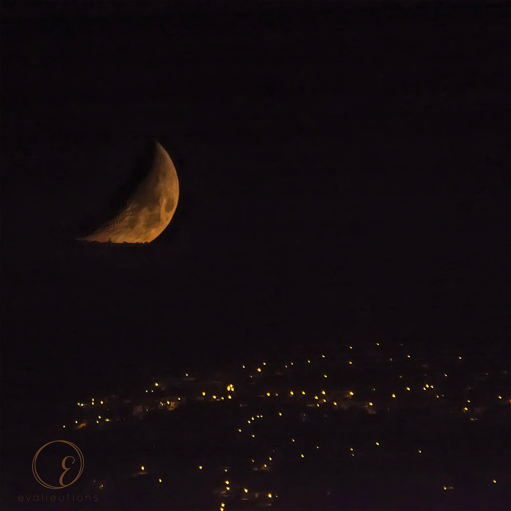 The Man in the Moon watches Neo Chorio sleep by evalieutionspics