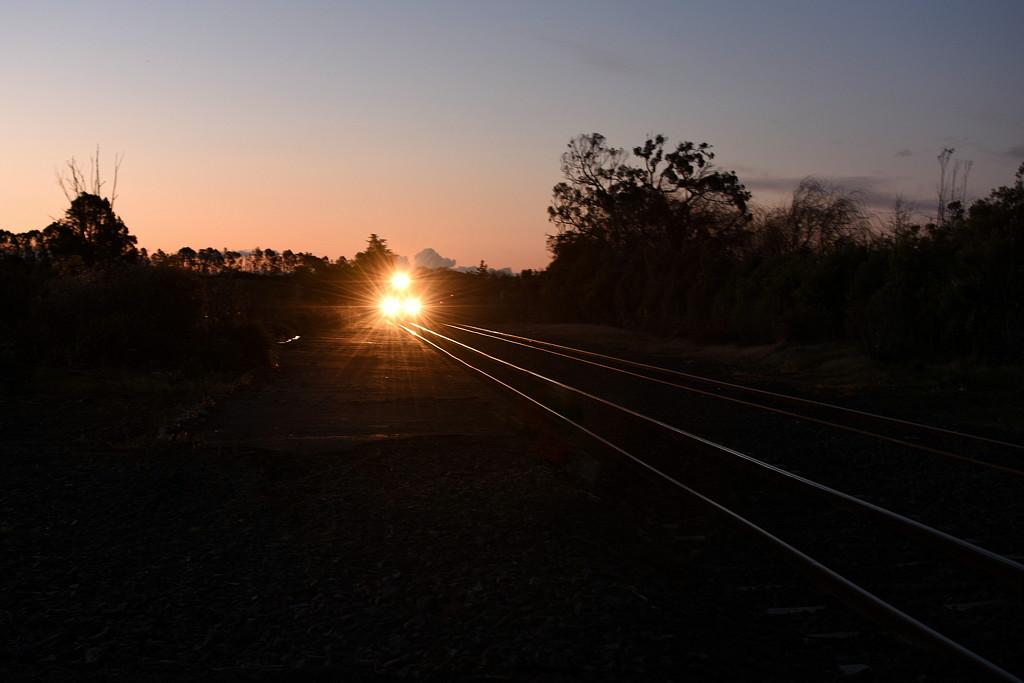 A Train's Coming by nickspicsnz