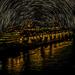 Star Trails At Sea by tonygig