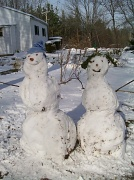 12th Dec 2010 - Mr. and Mrs. Snowman