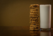 9th Sep 2016 - (Day 209) - Tall Glass of Milk & Cookies