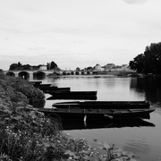11th Sep 2016 - OCOLOY Day 255: Boats on the Vienne