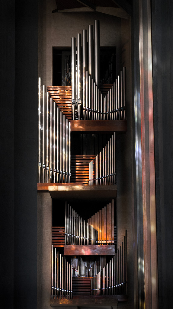 Organ Pipes - Coventry Cathedral by lupus