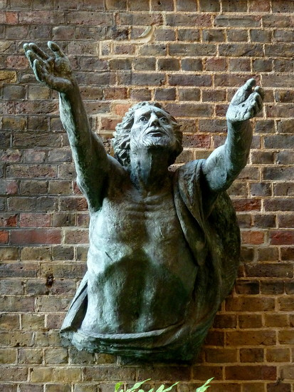 Jesus being raised from the dead by Hans Feibusch by boxplayer