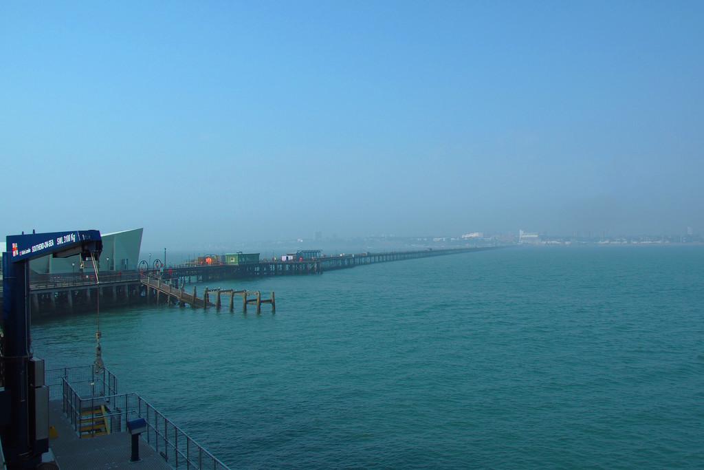 The Longest Pier by bizziebeeme