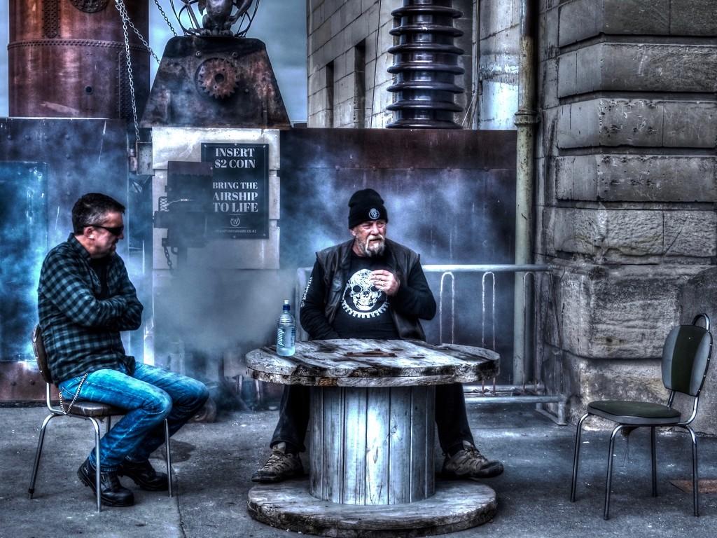 Steam Punk with smoke by maggiemae