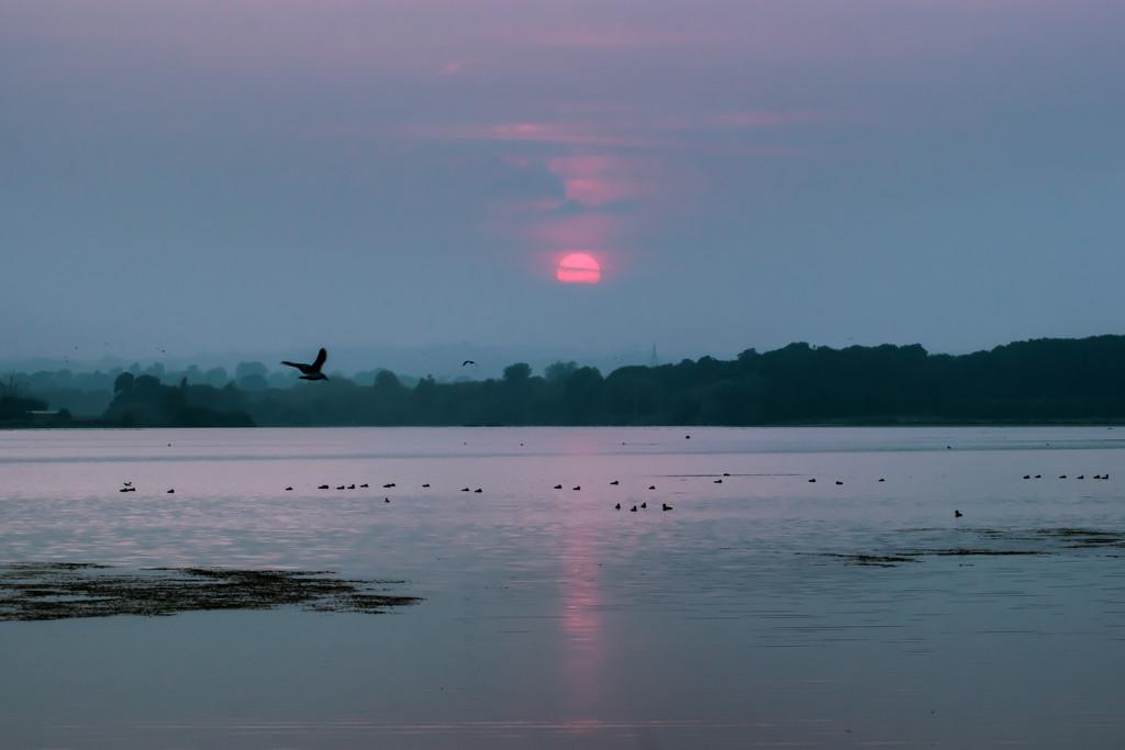Misty hazy Sunset  by rjb71