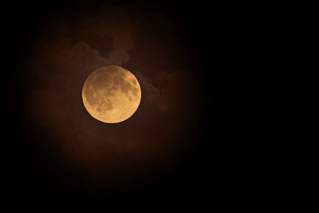Harvest moon 16.09.16 by psychographer