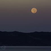 17th Sep 2016 - Moon over Chrysochous Bay