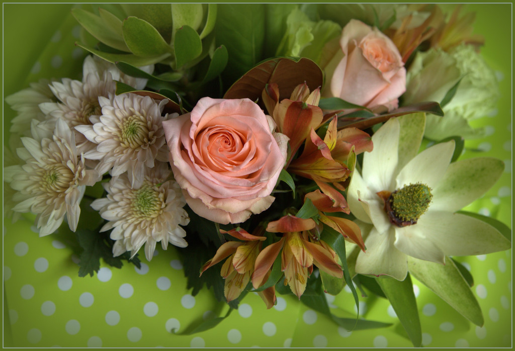 Birthday flowers by dide