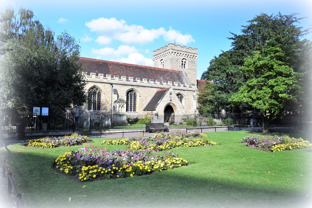 St Peter's Church Bedford by rosiekind