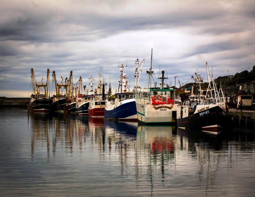 More Newlyn Reflections by swillinbillyflynn