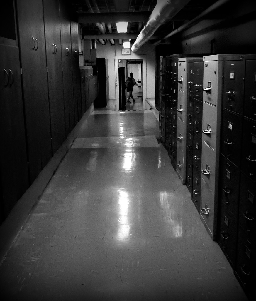 In the basement of Anderson Hall by mcsiegle