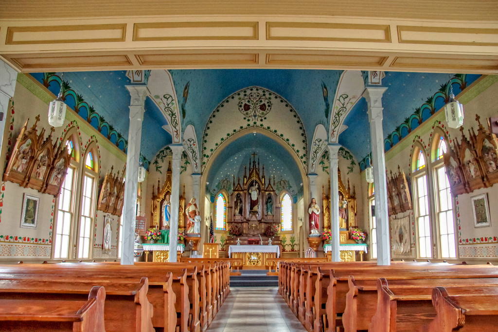 St. Cyril and Methodious Church interior by danette