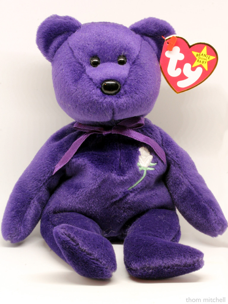 Beanie Baby: Princess by rhoing