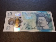 26th Sep 2016 - My first polymer fiver.