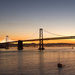 San Francisco Bay Bridge Sunrise by berelaxed
