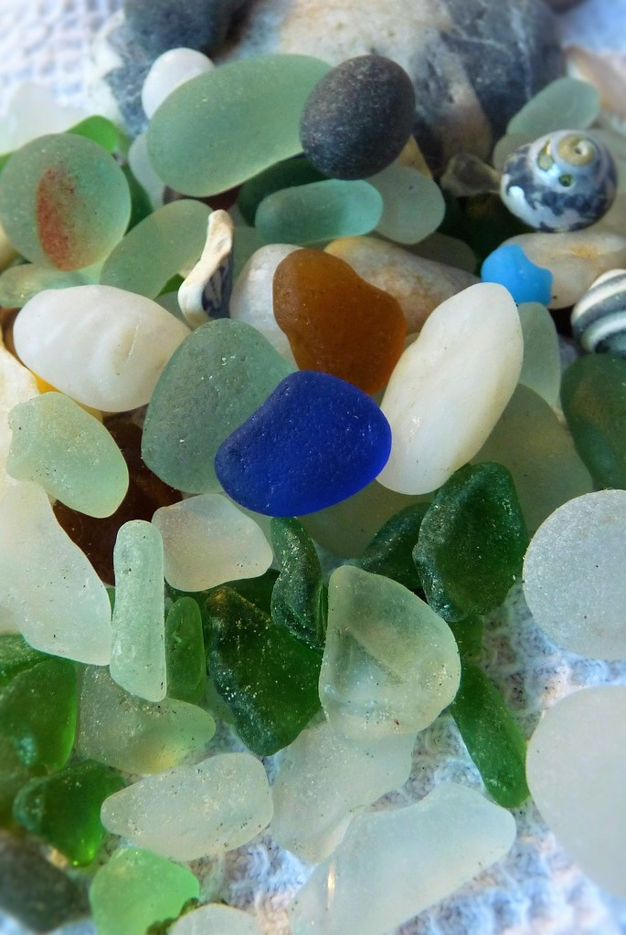 Sea glass obsession by rubyshepherd