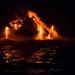 Lava Flowing into the Ocean by jyokota