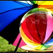 Umbrella in a glass ball by 777margo