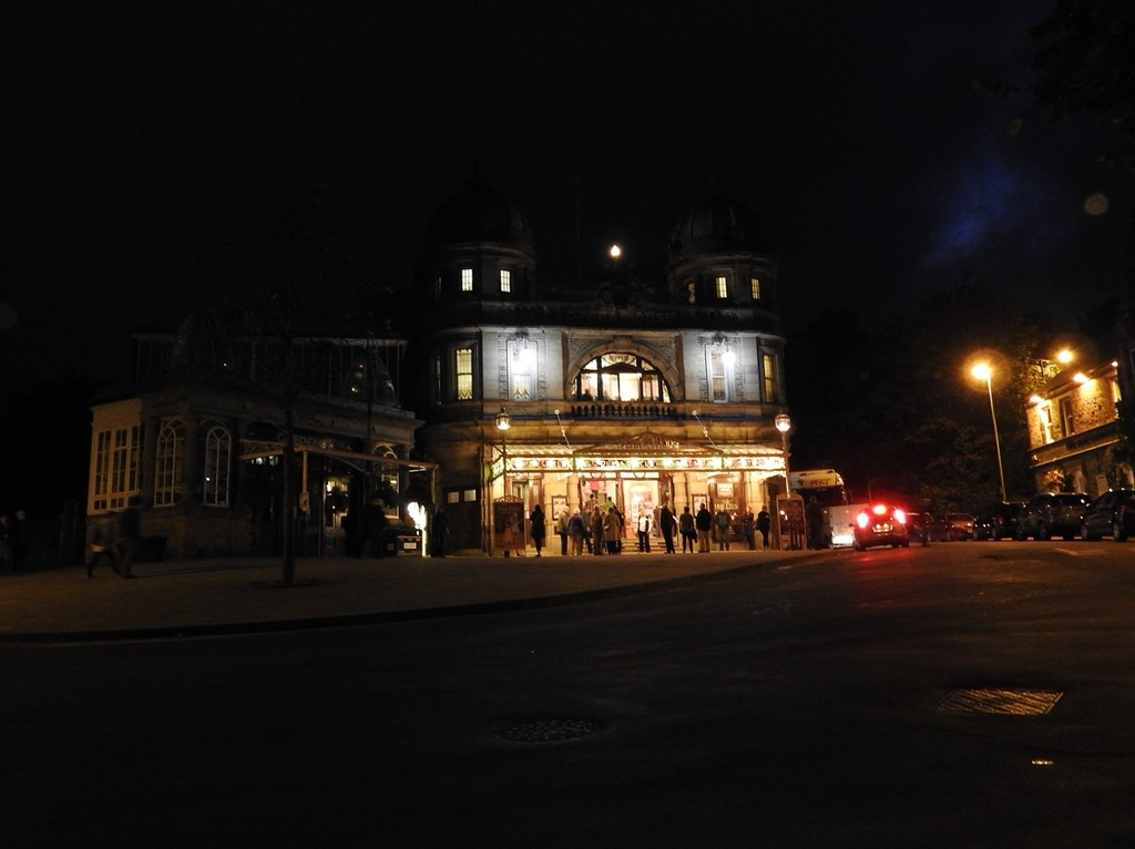 Buxton Opera House by roachling
