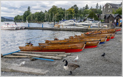1st Oct 2016 - Boats on Windermere