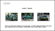 2nd Oct 2016 - Austin 7 Special